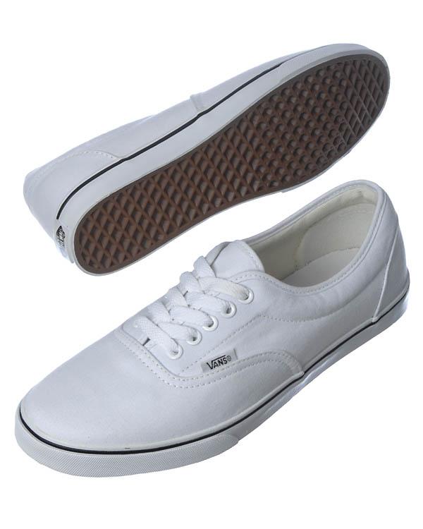 Hvid Vans